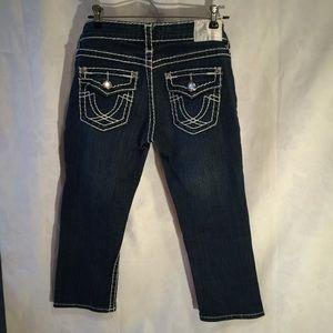 LA Idol crop jeans capri pants